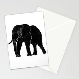 Elephant Stamp Stationery Cards