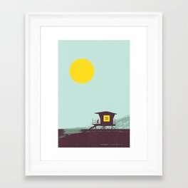 Locals Only - San Diego Framed Art Print