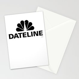 Dateline Logo Crew Neck Stationery Cards