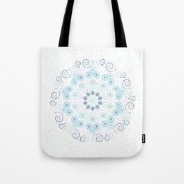Spring breeze mandala Tote Bag
