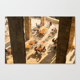 Cafe Societé Canvas Print