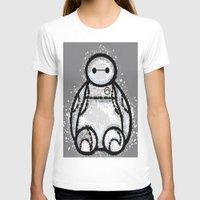 baymax T-shirts featuring Baymax by grapeloverarts