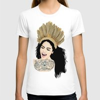 india T-shirts featuring India by ElodieD