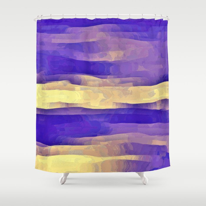 Purple Passion Sky Shower Curtain