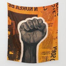 Raised Fist Wall Tapestry