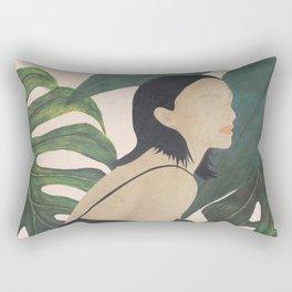 My Tropical Garden Rectangular Pillow