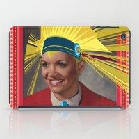 lara croft iPad Cases featuring Lara by Robert Cooper