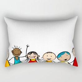 Smiling faces Rectangular Pillow