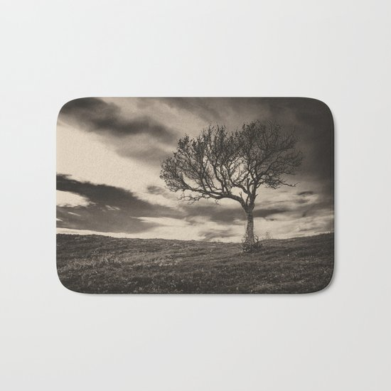 Lonely tree Bath Mat