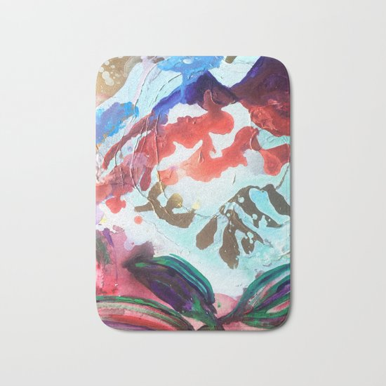 For purple mountain majesties Bath Mat