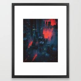 RED MEAT (everyday 10.12.16) Framed Art Print