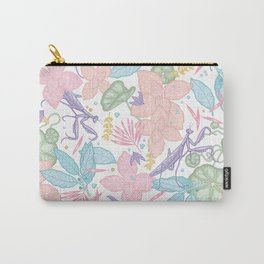 floral pastel spring dreams Carry-All Pouch