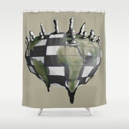 Next Move Shower Curtain