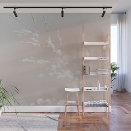 Catching Snowflakes - Nature Photography Wall Mural