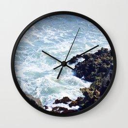 Tulum Rocky Shore Wall Clock