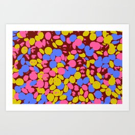 Candy Drops Art Print
