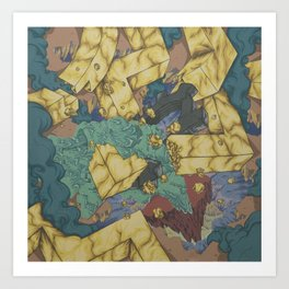 Breakin the Gold Standard Art Print