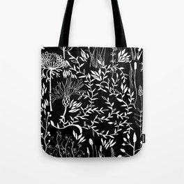 nature in black Tote Bag