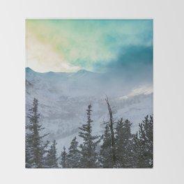 Rock Candy Mountain Throw Blanket