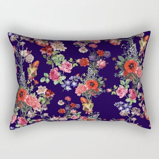 Botanical Pattern Rectangular Pillow