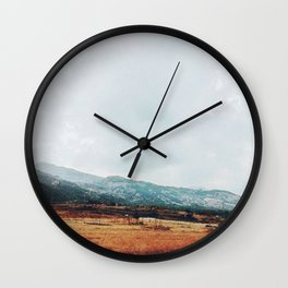 Distant Wall Clock