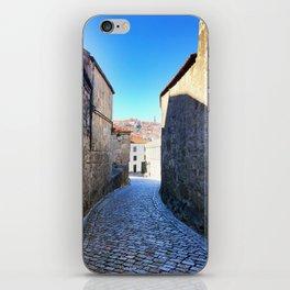 Streets of Vila Nova de Gaia iPhone Skin