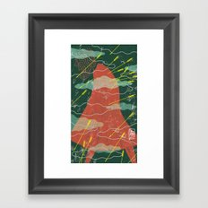 HURT Framed Art Print