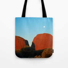 Kata Tjuta Moonrise - Greg Katz Tote Bag