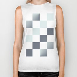 Square Pattern Simple Grid #decor #society6 #buyart Biker Tank