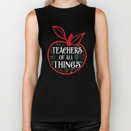 Teacher of all things favorite loved tutor Biker Tank