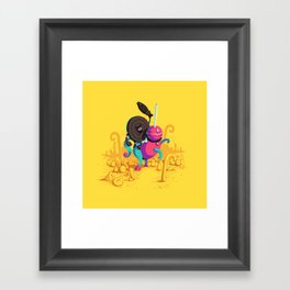 Kaiser Licorice III Framed Art Print