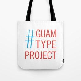 Guam Type Project Logo Tote Bag