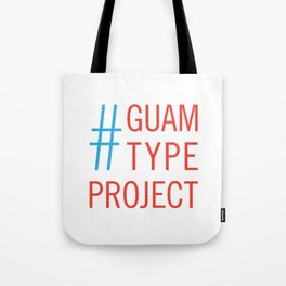 Guam Type Project Logo Tote Bag