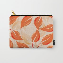 Harmony in Orange Carry-All Pouch