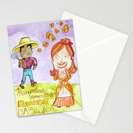 Mariposas Amarillas Stationery Cards