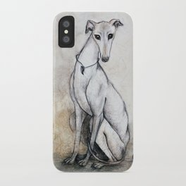 The Greyhound Wearing His Thorn iPhone Case