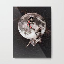 SuperMoon V Metal Print