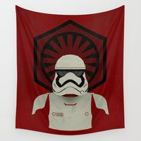 storm trooper Wall Tapestries featuring Storm by Joshua A. Biron