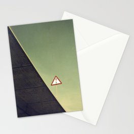 Red, amber and green Stationery Cards