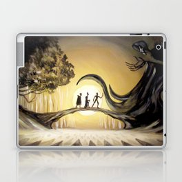 The Tale of the Three Brothers Laptop & iPad Skin