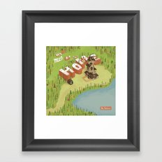 The Burrow Framed Art Print