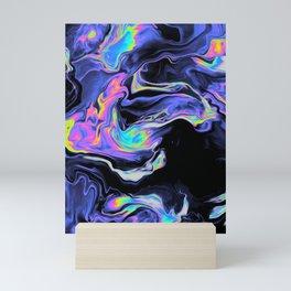DESPAIR IN THE DEPARTURE LOUNGE Mini Art Print