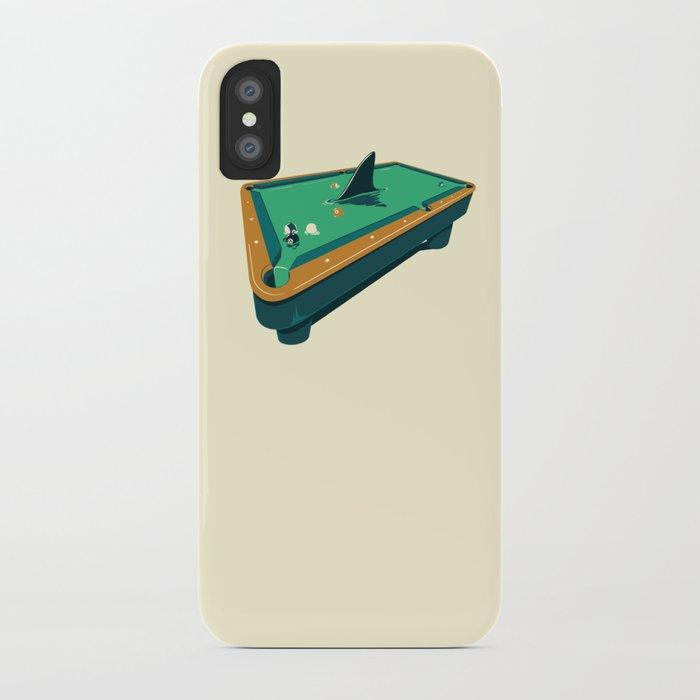 Pool shark iPhone Case
