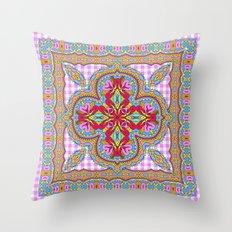 Mix&Match;  Pretty Pink Mandala Meditation pillow 01 Throw Pillow