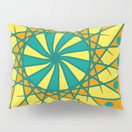 Colored Doodle Pillow Sham