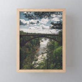 Ausable Chasm - New York, USA Framed Mini Art Print