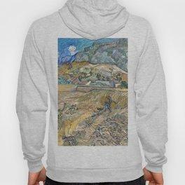 Landscape at Saint-Rémy by Vincent van Gogh Hoody