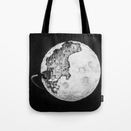 Party in the Moon Tote Bag