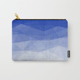 Imperial Lapis Lazuli - Triangles Minimalism Geometry Carry-All Pouch