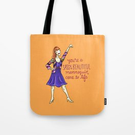 Leslie Knope Compliments: Sassy Mannequin Tote Bag